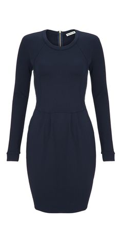 Whistles Dotty Jersey Dress. I'd wear this every day