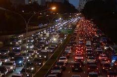 Resultado de imagem para trânsito de São Paulo