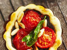 Tartelettes aux tomates cerise et à la tapenade, facile et pas cher