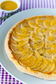 Tatin de Navets à l'Orange - für Mairübchen mit alsan magerine und Agavendicksaft statt butter und Honig ein super geiles veganes rezept!