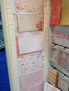 $0.99 Glitz Hello Friend Paper is HERE! Brand New Glitz Design - Scrapbook.com