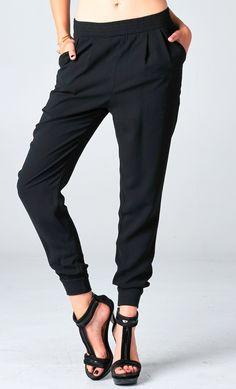 PUBLIK | Powered By ShopPad™ Tapered Trousers, Daily Dress, Trouser Pants, Urban Fashion, Boyfriend Jeans, Casual Pants, Fashion Forward, Celebrity Style, Autumn Fashion