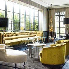 Love this living room! Architectural Digest style!