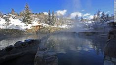 Strawberry Hot Springs in my favorite place - Steamboat Springs.  One of CNN's five unforgettable hot springs