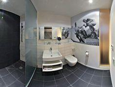 #Fototapeta w #łazience