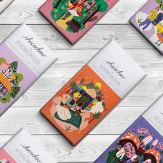 Fairytale Chocolate Bars / Chocochou on Behance
