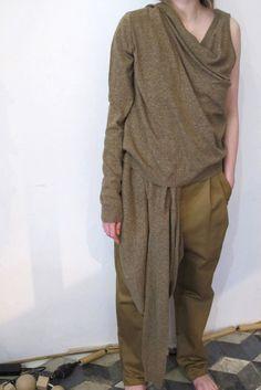 BLESS N°49 ALTERNARRATIVE Extended Top Silk