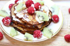 Heleneragnhild - Healthy Sweet Treats, Pancakes, Breakfast, Food, Morning Coffee, Healthy Treats, Essen, Pancake, Meals