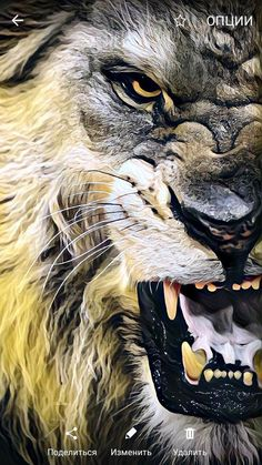 A deadly Monster Lion Wallpaper Iphone, Animal Wallpaper, Lion Images, Lion Pictures, Big Cats Art, Cat Art, Lion Photography, Lion Head Tattoos, Angry Animals