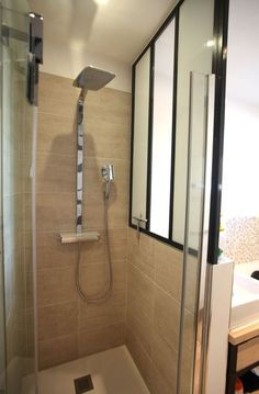 Salle de bain on pinterest bathroom zen and showers - Plan amenagement salle de bain 6m2 ...