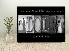 WEDDING SPECIAL DATE Artwork. Wedding Picture.  by StudioEGifts