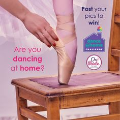 Win a copy of On Pointe - the Ballet Board Game.  Post a pic of you dancing at home with the hashtag #onpointegame to your socials. Post before May 31,2020 and if you're a resident of the US or Canada, you might win a copy of this great new game! #onpointe #contest #contestalert #pointe #dance #dancecompetition #keepdancing #pointeshoes Pointe Shoes, Ballet Shoes, News Games, Board Games, Dancing, Challenges, Canada, Ballet Flats, Tabletop Games