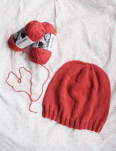 Neulottu syto-myssy   Novita knits