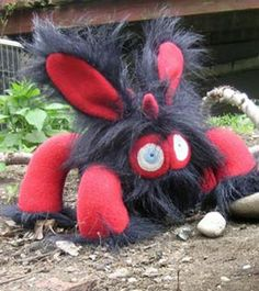 Baby Grupp Monster from -Stuffed Silly hehehe but too much spidey like so please no! not this one!