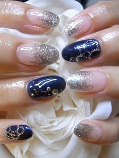 Ƹ̴Ӂ̴Ʒ likes this - Nail Art by Mani
