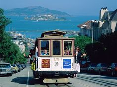 San Francisco, Califorina- One of the coolest places to visit! I'd go back in  a heart beat!