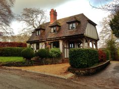 19th January 2014.A cottage at Droxford, Hampshire.