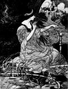 The Lady of Shalott- Charles Robinson