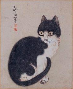 『猫図』(部分)卞相璧(1730年~?)李朝後期紙本着彩東京国立博物館  やっぱり、ねこ・猫・ネコが好き! | 名画でホッ | 東洋経済オンライン | 新世代リーダーのためのビジネスサイト