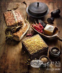 행복이가득한집 Design your lifestyle 물·소금·바람·햇볕이 만든 [발효 이야기] 시간의 맛 된장 Korean Rice Cake, Korean Sweets, Korean Food, Asian Desserts, Asian Recipes, Menu Card Design, Korean Dishes, Rice Cakes, Classic Cocktails