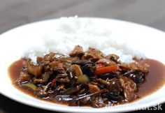 Fotorecept: Bravčové mäsko s ostrokyslou čínskou omáčkou......... https://dobruchut.azet.sk/recept/67766/fotorecept-bravcove-stehno-s-ostrokyslou-cinskou-omackou