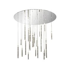 Comete Chandelier ❤ liked on Polyvore featuring home, lighting, ceiling lights, london lights and fabric chandelier