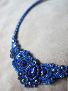 Soutache necklace / Колье, бусы ручной работы. Ярмарка Мастеров - ручная работа…