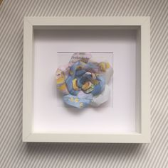 Upcycled handmade Disney Princess Cinderella - Framed Paper Rose by Karolina Rose #DisneyFan #Cinderella