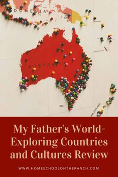 A review of My Father's World-Exploring Countries and Cultures with a complete resource page included