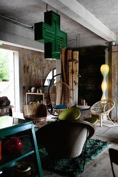 L'hôtel Los Enamorados à Ibiza, délire éclectique bohème Space Ibiza, Turbulence Deco, Best Hotels, Decoration, Hanging Chair, House Tours, Summertime, Sweet Home, Home Appliances