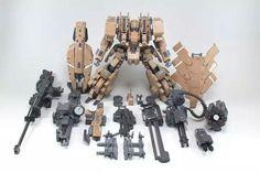 Robot Concept Art, Robot Art, Space Warfare, Space Armor, Lego Frame, Armored Core, Big Robots, Frame Arms Girl, Lego Mecha