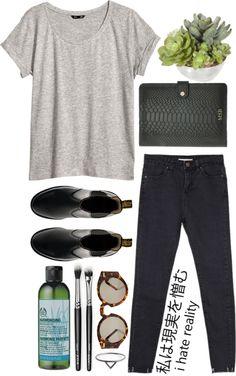 Untitled #297 par synchid utilisant jeans taille haute