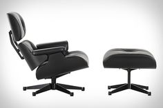 When one of your favorite chairs has been on the market for nearly 60 years, its a big deal when it gets a refresh. And the Eames Black Ash Lounge Chair & Ottoman ($TBA) is exactly that. Sporting black ash shells, deep black leather, and black aluminum pieces, it provides an interesting monotone take on the classic commonly associated with its blend of leather and wood veneer.