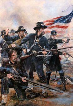 Iron Brigade, Brawner's Farm, August 1862.