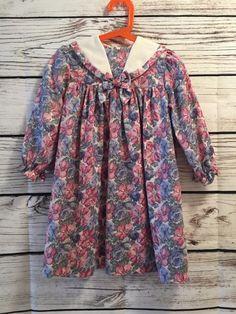 Vintage Laura Ashley Dress Mother & Child 2-3 Years EUC 100% Cotton  | eBay