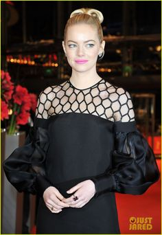 Emma Stone: 'Croods' Berlin Premiere!