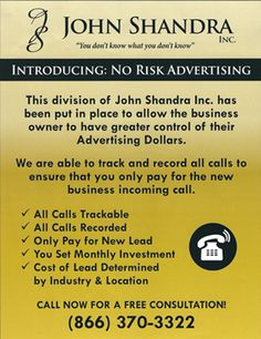 Josh Shandra - The Equalizer helps businesses increase ROI marketing with strategic planning and no risk advertising. Strategic Planning, Advertising, Marketing, Business