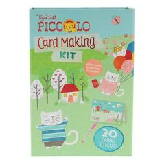 Tiger Tribe - Piccolo Card Making Kit This would be great for the kids to make for all the b'day parties they go to.