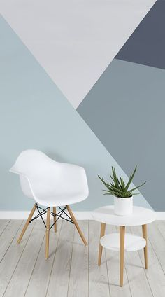 These modern wallpaper designs have been paired with super stylish living rooms, to inspire you to create a chic and modern living space. living room Modern Wallpaper Designs for Living Rooms