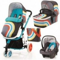 Cosatto Giggle Hold 3 in 1 Travel System New Wave