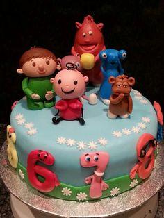 Baby tv cake birthday celebrations