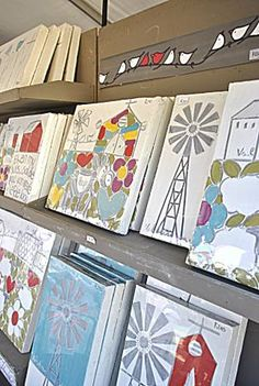 Val du Charron Home Craft Markets, Crafty, My Favorite Things, Cool Stuff, Plaster, Canvases, Art Journaling, Drawings, Creative