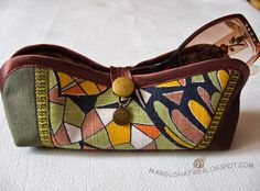 Eyeglasses and Sunglasses case Tutorial & Pattern.