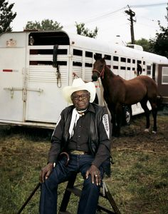 The only black man on the ranch. He had a bad back and bad leg. Black Cowgirl, Black Cowboys, Cowboy Up, Cowboy And Cowgirl, Real Cowboys, Handsome Black Men, Black Man, Star Trek Images, The Lone Ranger