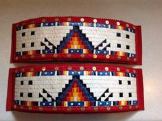 Made by Debra Soldier-Tacan - Quilled Arm Bands