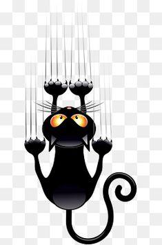 Kitten Cartoon, Cartoon Clip, Cute Couple Shirts, Art And Craft Design, Arte Popular, Cat Paws, Black Wallpaper, Cat Design, Fabric Art