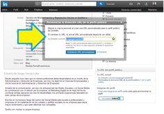 Cómo personalizar tu url de LinkedIn