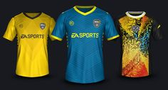 The FIFA 17 Ultimate Team Kits boast unique designs, created by famous designers such as Emilio Sansolini and Angelo Trofa.