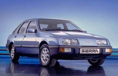 Ford Sierra this was a comfortable car for its day but a bit thirsty!