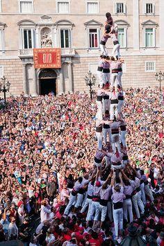 La Mercè - Castellers, Barcelona